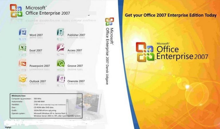 MS Office 2007 Portable ISO 32/64 Bit Free Download