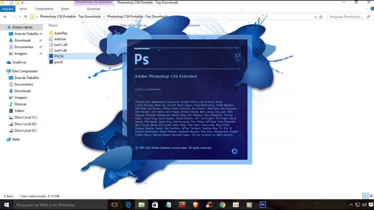 Adobe Photoshop CS6 Portable With SerialKey And Crack