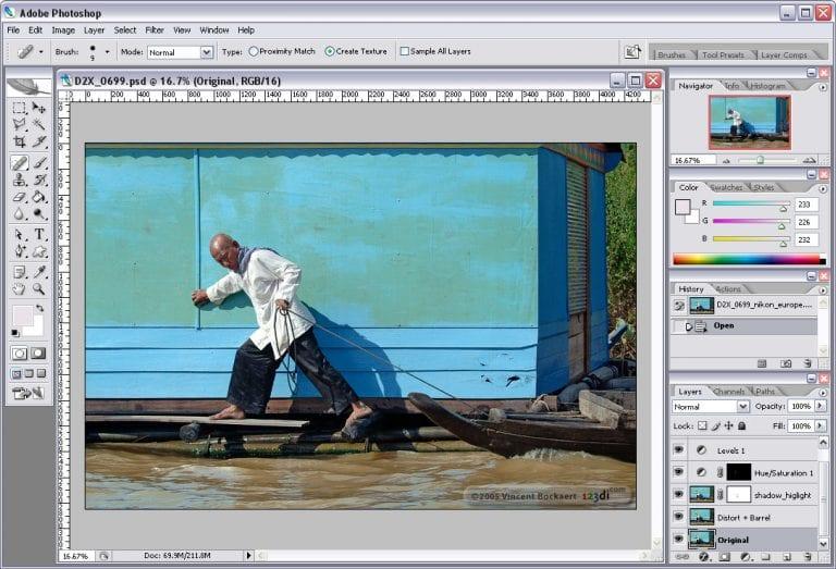 Features Of Adobe Photoshop CS2