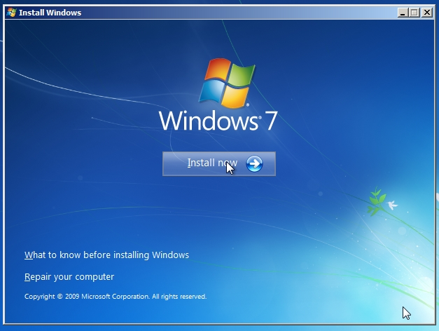 How To Install Windows 7 iso