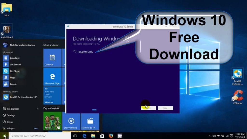 windows 10 Free Download